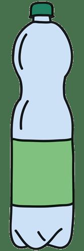 Einweg-PET-Flasche